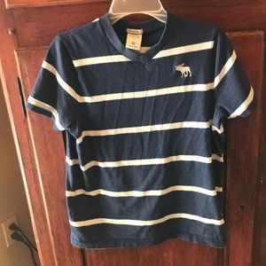 Abercrombie Boys XL Navy muscle Shirt